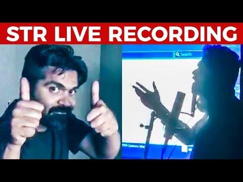 HOT: Simbu's Live recording session | Full Video