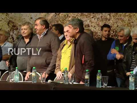 Argentina: Thousands take part in May Day demonstration in Buenos Aires
