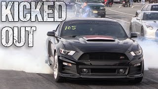 Screamin' Roush Stage 3 Mustang KICKED OUT of Track for Going Too Fast