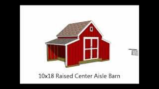 10 Barn And Gambrel Shed Plans From Icreatables.wmv