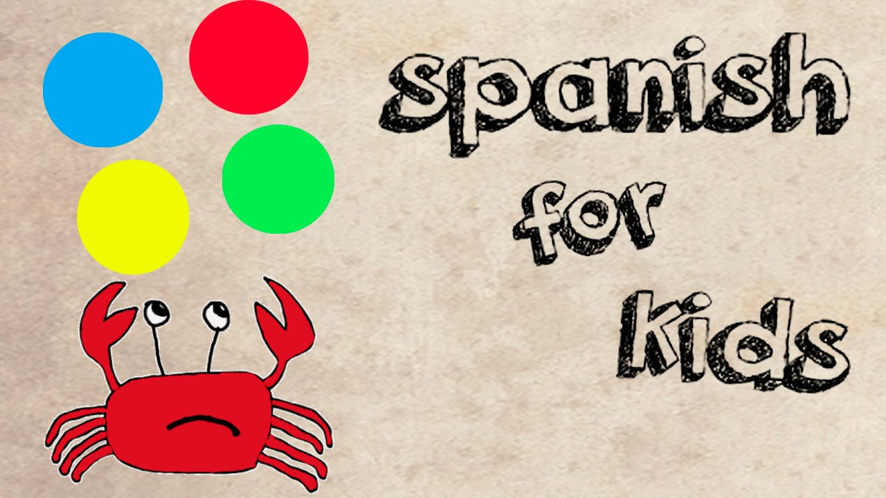 how to speak spanish for kids? || learning spanish for kids with colors