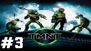Teenage Mutant Ninja Turtles (TMNT) - Mission 3 - Techno Ninjutsu [HD] (Xbox 360/PS2/PC/Wii)