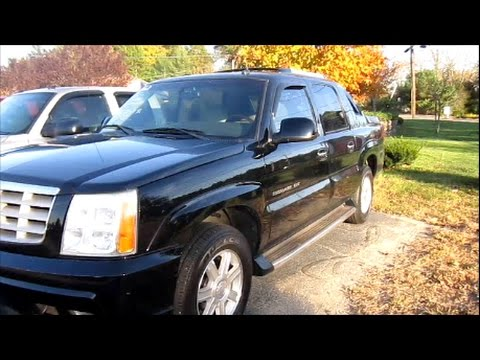 2002 cadillac escalade ext start up engine review youtube. Black Bedroom Furniture Sets. Home Design Ideas