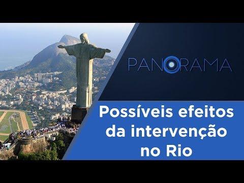 Panorama | Intervenção federal no Rio de Janeiro | 22/02/2018