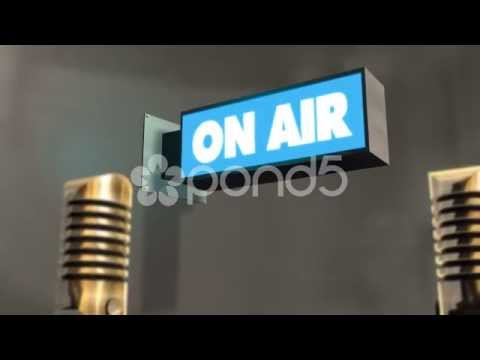 On Air - Studio Background Dolly Shot With Depth Of Field (Dof) - Music Record