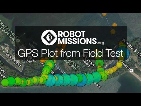 GPS Location Plot at CASTAWAY Field Test