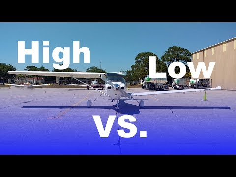 Transitioning from a High Wing to a Low Wing Airplane | Explained