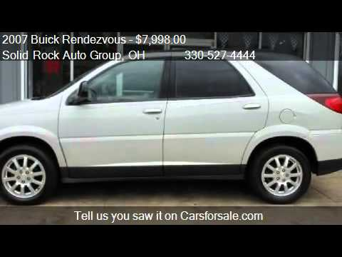 2007 buick rendezvous cx for sale in garrettsville oh 442 youtube. Black Bedroom Furniture Sets. Home Design Ideas