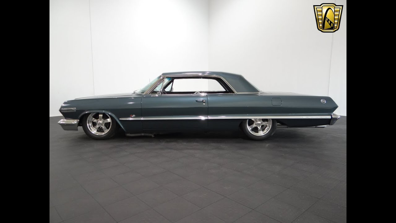 1963 Chevrolet Impala SS Gateway Classic Cars Chicago #859