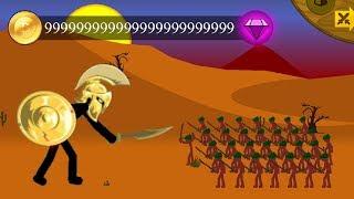 Golden Swordwrath counter attack 💛 STICK WAR LEGACY Mod Insane