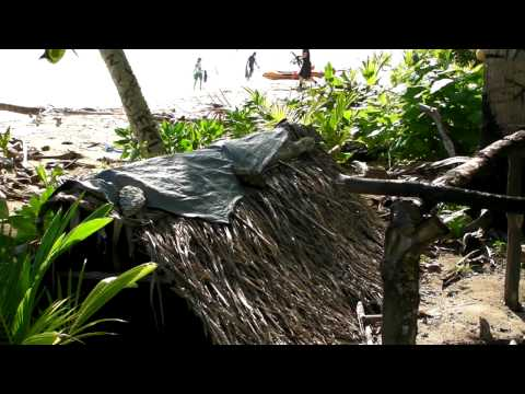 Namu Atoll - Merkin Island - Huts