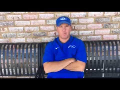 Rebels Coach Jason Allen
