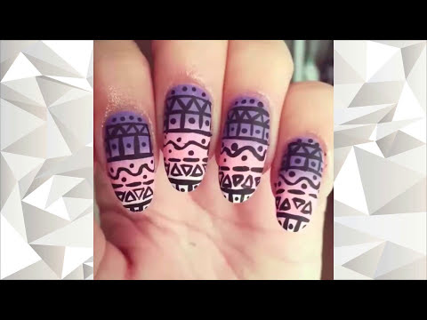 1 HOUR OF AMAZING NAIL ART TUTORIAL thumbnail