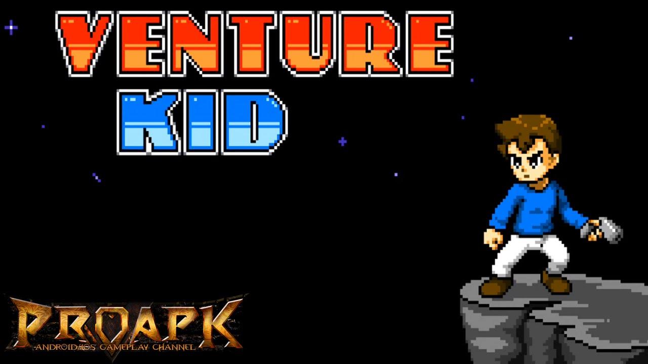 Venture Kid Game