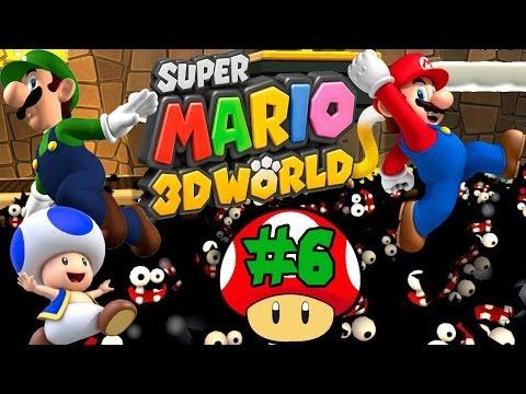 ABM: Super Mario 3D World (Walkthrough 6) HD)