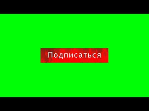 5 крутых футажей ПОДПИСАТЬСЯ на зеленом фоне (хромакей ПОДПИСАТЬСЯ) зеленый фон футаж зеленый экран