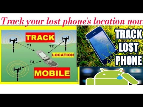 Track phone- how to track a cell phone or mobile number location for free(best trick)