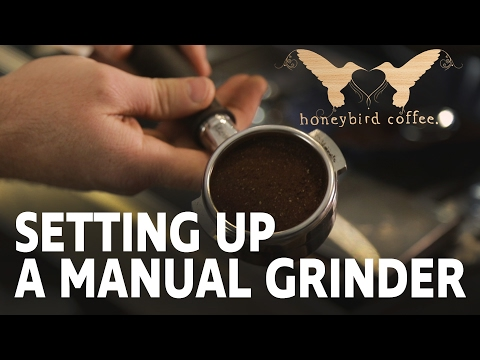 BARISTA TRAINING SERIES - Part 4 -  Manual Grinder