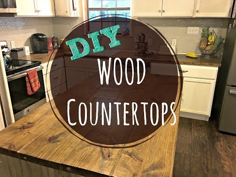 DIY Butcher Block Counters for CHEAP!