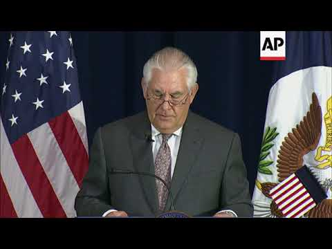 Tillerson: 'Hate is Not an American Value'