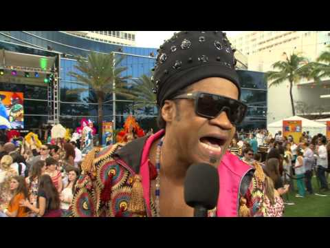 Rio 2: Carlinhos Brown Miami Movie Premiere Interview
