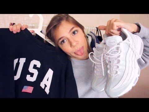 HAUL х КАК ОДЕВАТЬСЯ СТИЛЬНО И НЕДОРОГО? ПОКУПКИ ОДЕЖДЫ С ПРИМЕРКОЙ | Brandy Melville, Nike