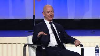 Jeff Bezos Interview with AFA President Gen. Larry Spencer, Ret.