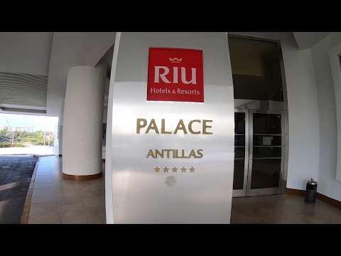 Hotel Riu Palace Antillas Aruba. All Inclusive, Palm Beach, Oranjestad. Walk Through. March 2019.