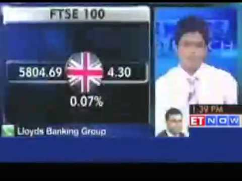 Lloyds Banking Group's view on global market