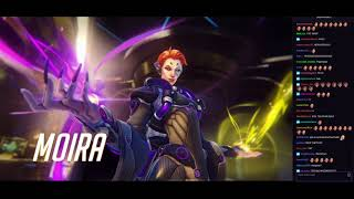 Twitch chat reacts to new Overwatch Hero - Moira