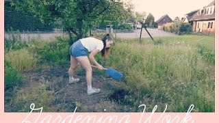 GARDENING WORK // with dad and tina - montage
