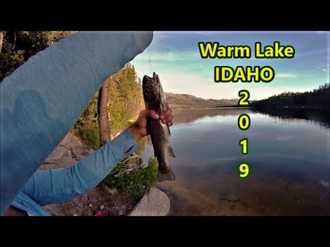 Trout Fishing Warm Lake Idaho With Worms & Marshmallows!