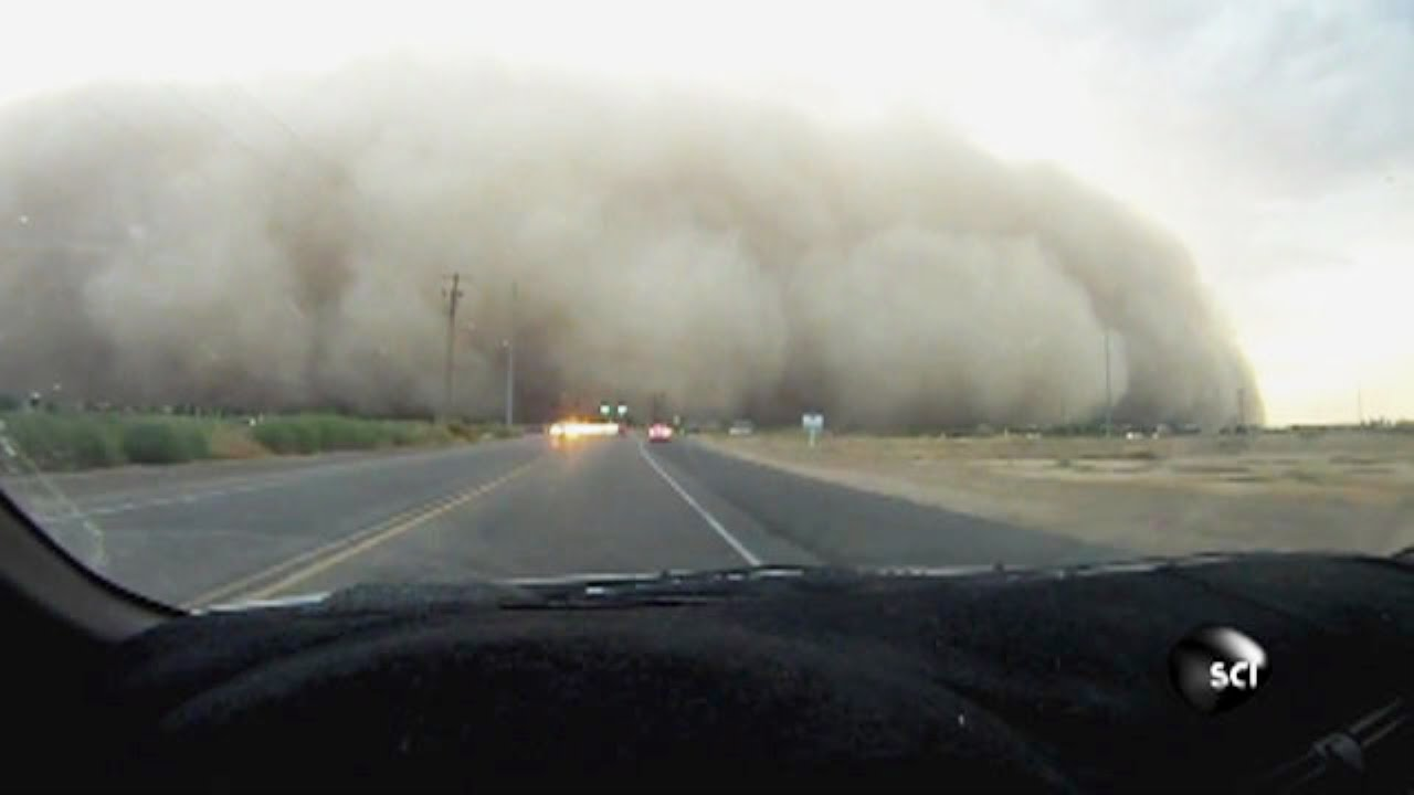 How Do Massive Dust Storms Form? - YouTube