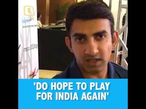 The Quint: Gautam Gambhir: Don't Need Pink Ball in Tests