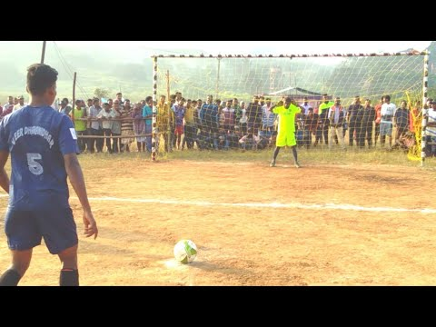 Sporting club Ganua Vs Azad basti Joda || Chikatnali Gaon || best penalty goal ever