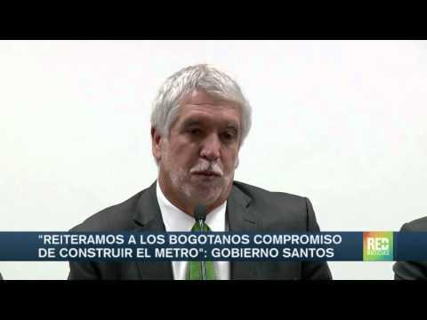 Gobierno de Bogotá reiteró su compromiso de construir el metro