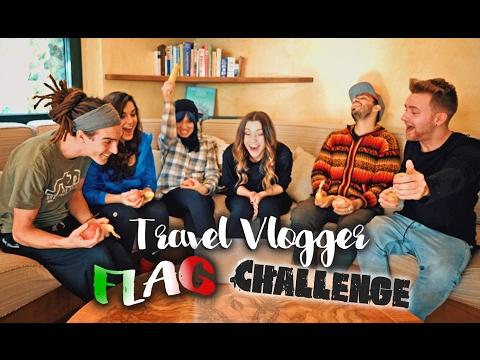 ULTIMATE Travel Vlogger FLAG CHALLENGE