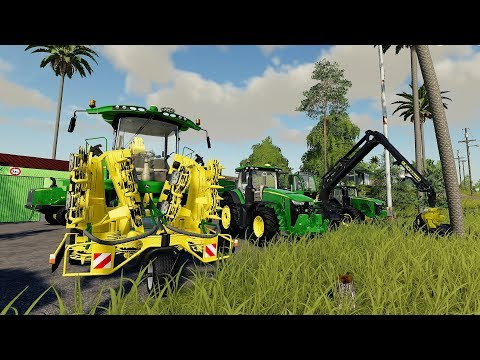 FS19 - Forestry and Farming on Ravenport 111