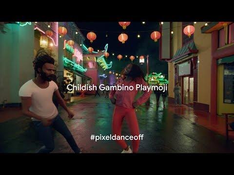 News: Google Unleashes the Powers of Childish Gambino aka Donald Glover in AR via New Pixel Playmoji