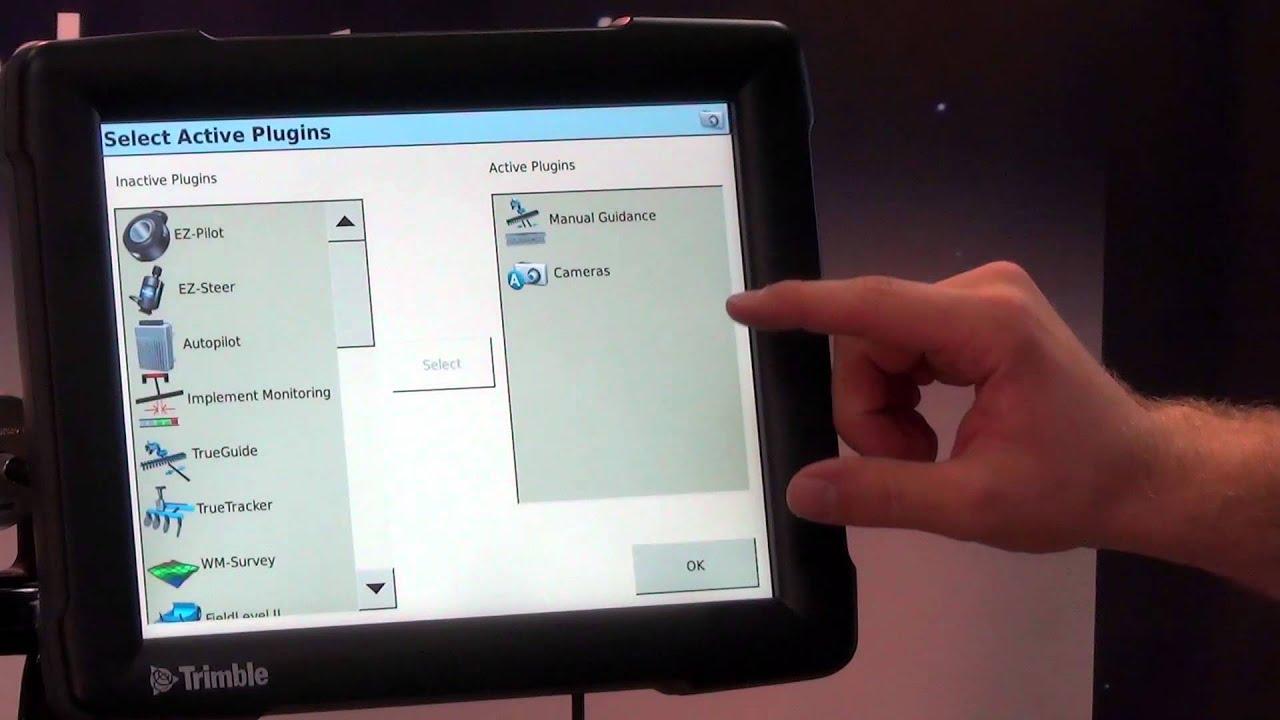 Trimble FMX Display Tutorial - Configuration Menu I