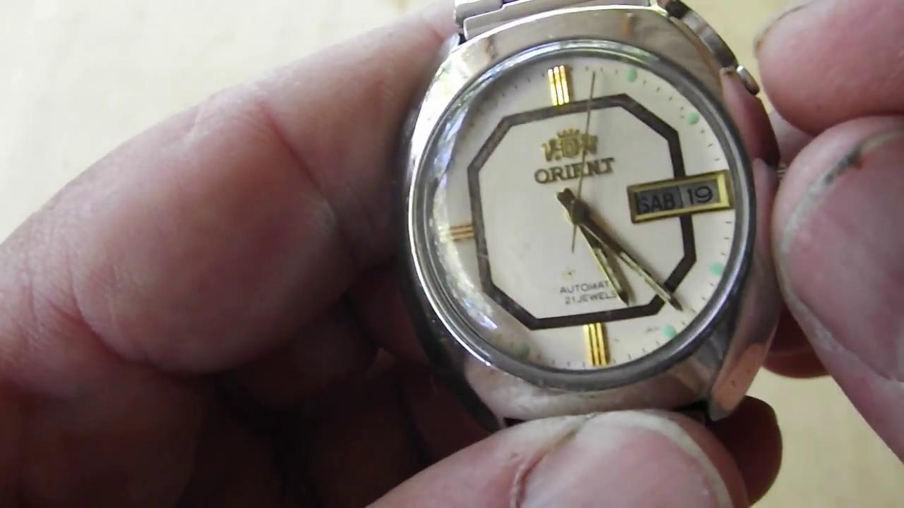 1c7e879d172 Relógio Orient automático antigo no Mercado Livre - YouTube