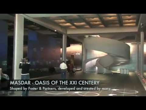 Masdar City - the Clean City of Abu Dhabi