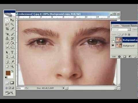 Adelgazar la cara en photoshop trial