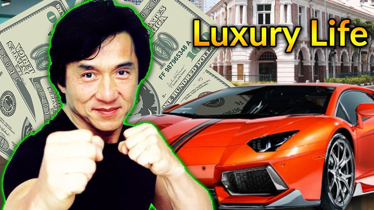 Jackie Chan Luxury Lif...