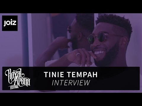 Royal Arena 2016 | Tinie Tempah Interview
