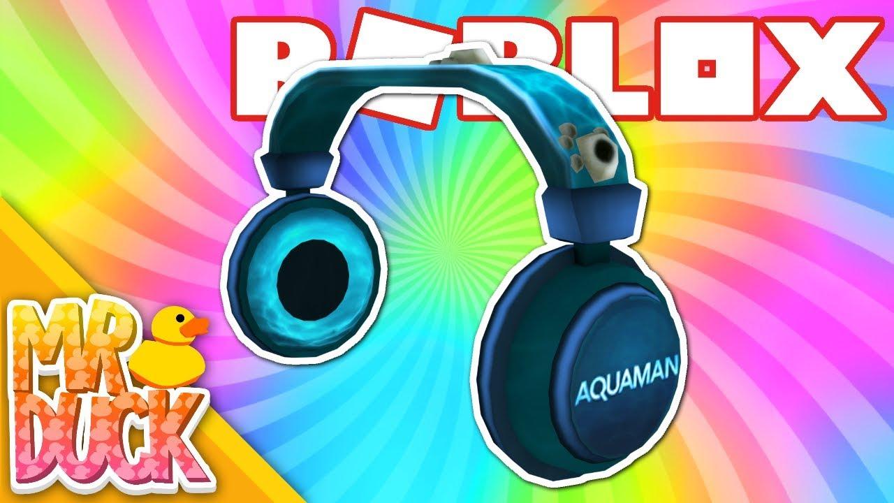 How To Get The Aquaman Headphones Roblox Aquaman Event