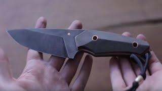 How to make a ultra sharp LIMA KNIFE with the help of a CNC Router - Griffschalen für Messer bauen