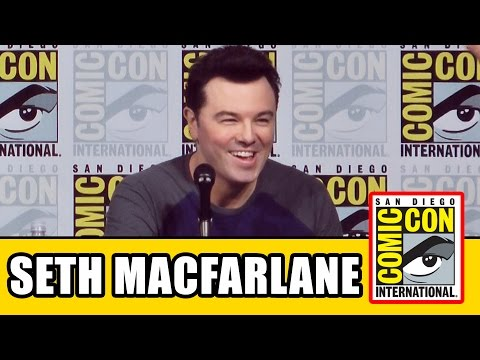 Seth Macfarlane Animation Comic Con Panel - Family Guy, American Dad