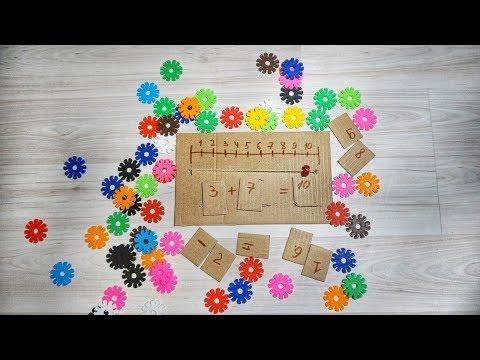 Интересные игры по математике для дошкольников своими руками