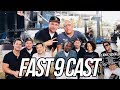 INTERVIEW WITH FAST FURIOUS 9 CAST IN MIAMI